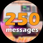 Roblox Ro-Meet - Badge 250 Messages!