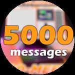 Roblox Ro-Meet - Badge 5000 Messages!!!