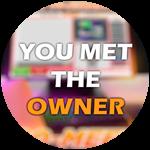 Roblox Ro-Meet - Badge You met the Owner!