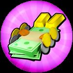 Roblox Sled Simulator - Shop Item Lots o' Money Pack