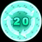 Roblox Strongman Simulator - Badge Rebirth - 20