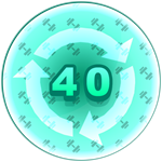 Roblox Strongman Simulator - Badge Rebirth - 40