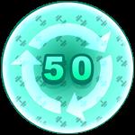 Roblox Strongman Simulator - Badge Rebirth - 50