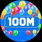 Roblox Texting Simulator - Badge 100M Visits