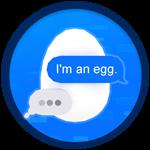 Roblox Texting Simulator - Badge Communication App Egg