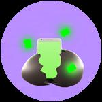 Roblox Texting Simulator - Badge Cracked Droid Egg
