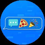 Roblox Texting Simulator - Badge Pizza Party Developer Prize!