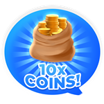 Roblox Texting Simulator - Shop Item 10x Coin Collected Value