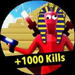Roblox Totally Accurate Gun Simulator - Badge +1000 Kills