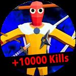 Roblox Totally Accurate Gun Simulator - Badge +10000 Kills