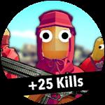 Roblox Totally Accurate Gun Simulator - Badge +25 Kills