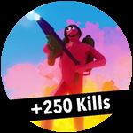 Roblox Totally Accurate Gun Simulator - Badge +250 Kills