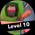 Roblox Totally Accurate Gun Simulator - Badge Level 10