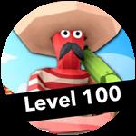 Roblox Totally Accurate Gun Simulator - Badge Level 100