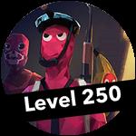 Roblox Totally Accurate Gun Simulator - Badge Level 250