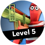 Roblox Totally Accurate Gun Simulator - Badge Level 5