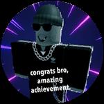 Roblox Totally Accurate Gun Simulator - Badge YOU MET THE CREATOR (epic)