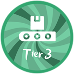 Roblox Treasure Lake Simulator - Badge Tier 3 Polisher!