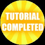Roblox Treasure Lake Simulator - Badge Tutorial Complete!