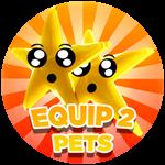 Roblox Treasure Lake Simulator - Shop Item Equip 2 pets!