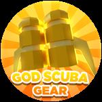 Roblox Treasure Lake Simulator - Shop Item God Scuba Gear!