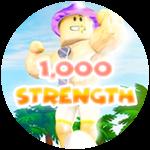 Roblox Weight Lifting Simulator - Badge 1,000 Strength