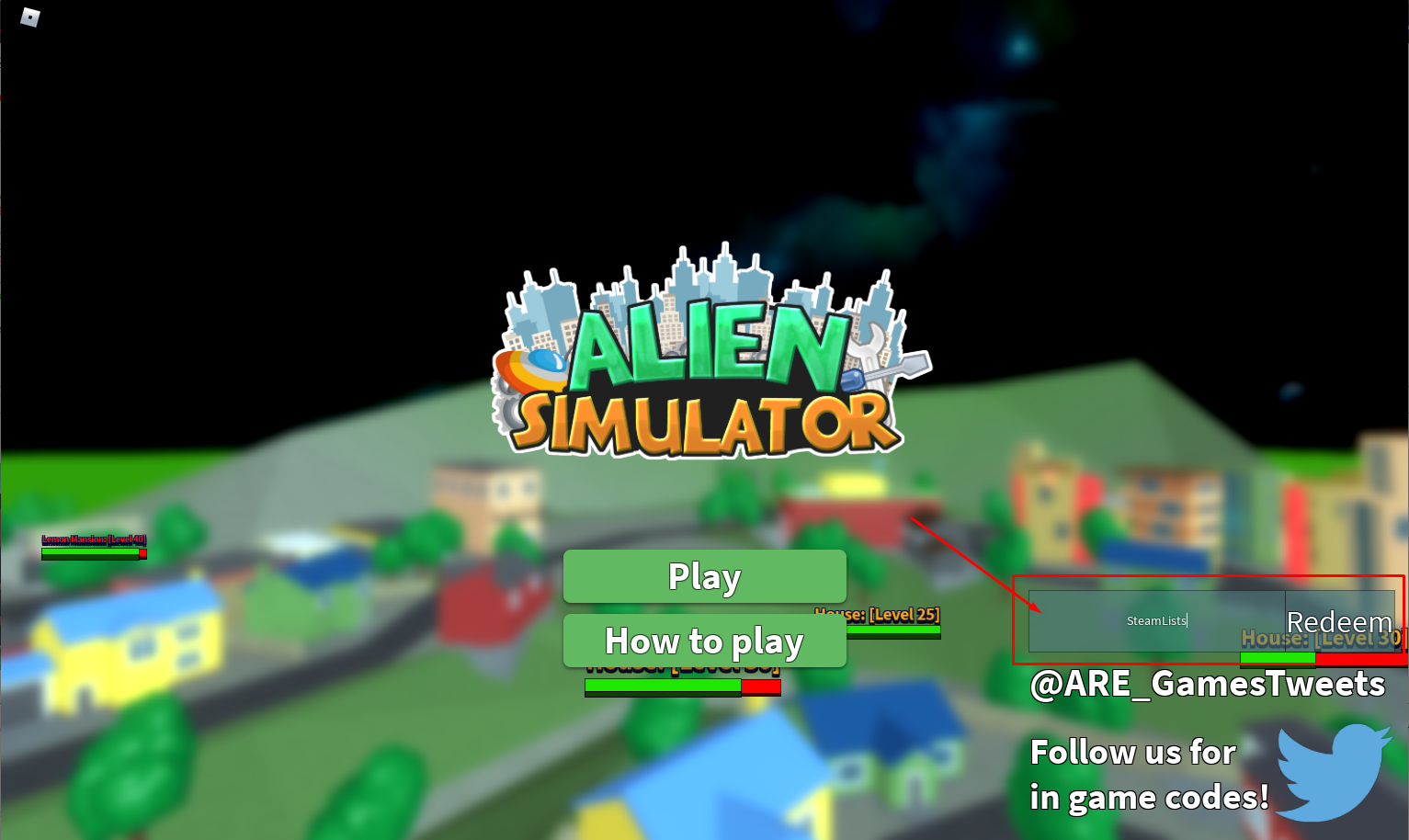 Roblox Alien Simulator Codes