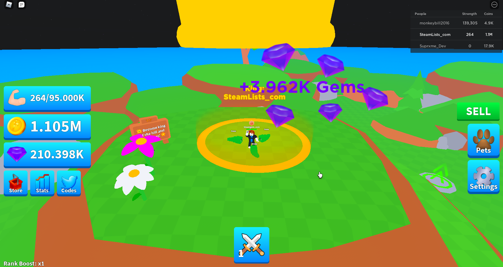 Roblox – Axe Champions How to farm Gems? Beginners Help 5 - steamlists.com