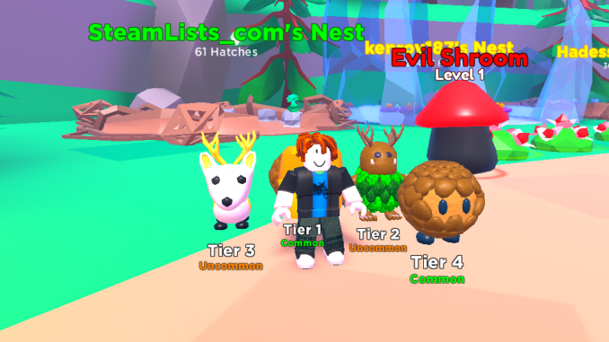 Roblox – Pet Swarm Simulator How to upgrade Pets and make them stronger? Beginners Help 4 - steamlists.com