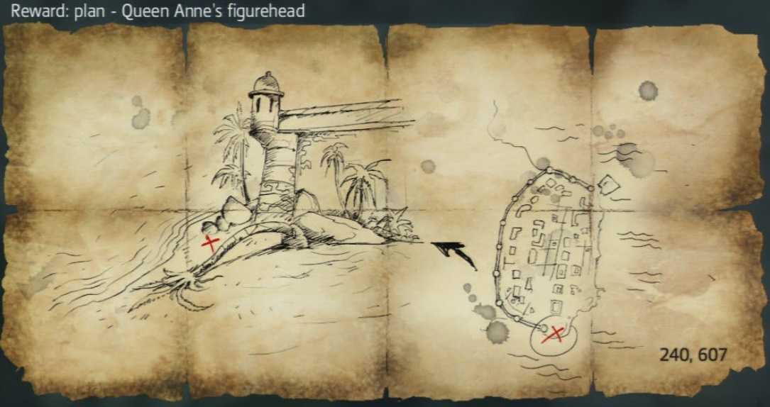 Assassin's Creed IV Black Flag - All 19 Maps & Locations + All Chest Locations in Single Player Mode - Locations/Maps: - 41BF594