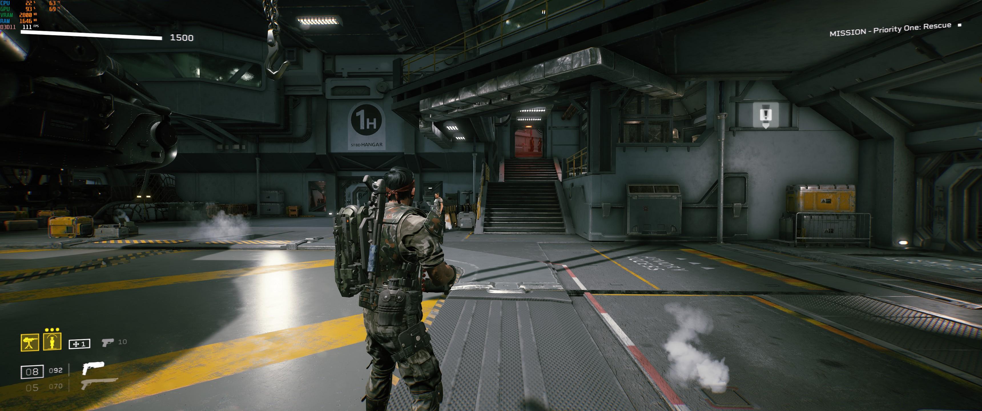 Aliens: Fireteam Elite - How to adjust the FOV - Example FOV - 41C1224