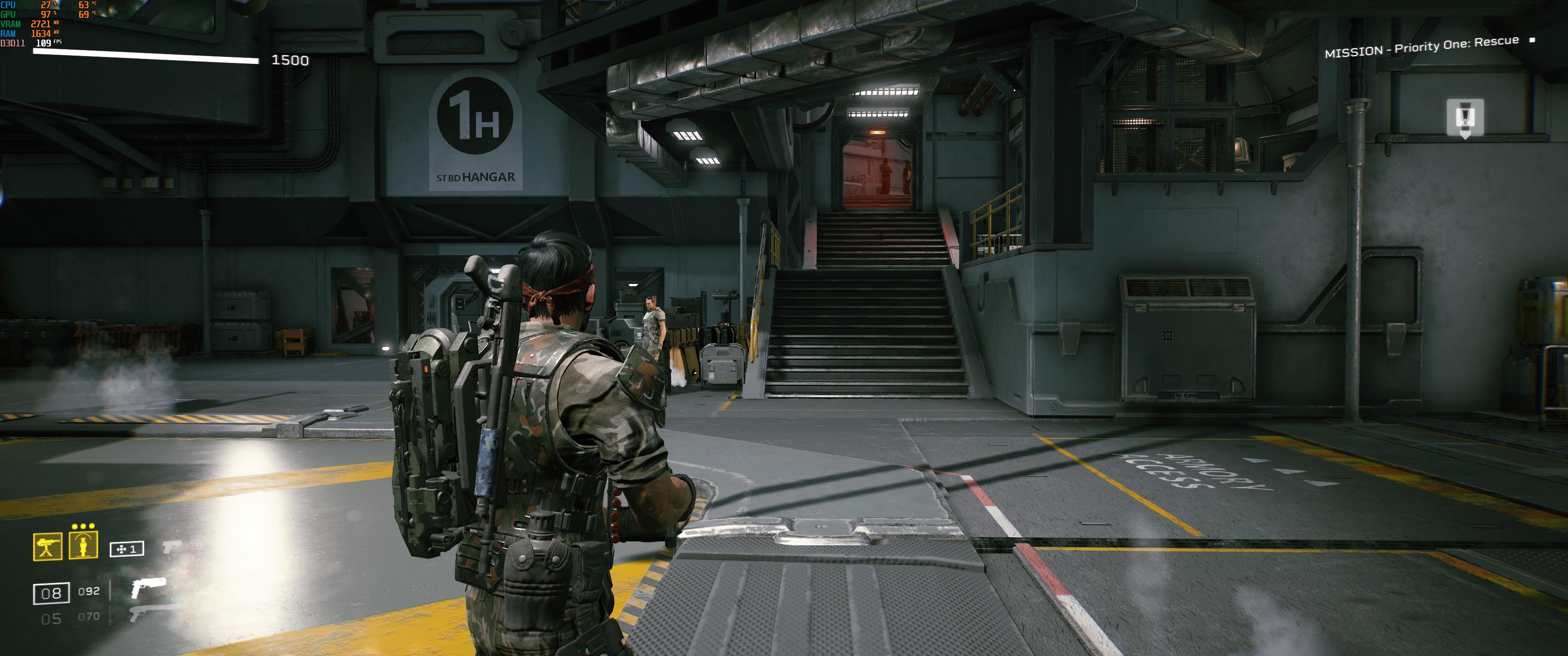 Aliens: Fireteam Elite - How to adjust the FOV - Example FOV - 865E274