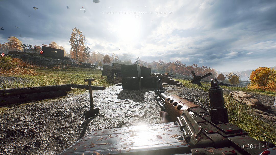 Battlefield™ V - Locations of All Letters in Game + Walkthrough - 17 LETTERS TIRAILLEUR - 0B1485E