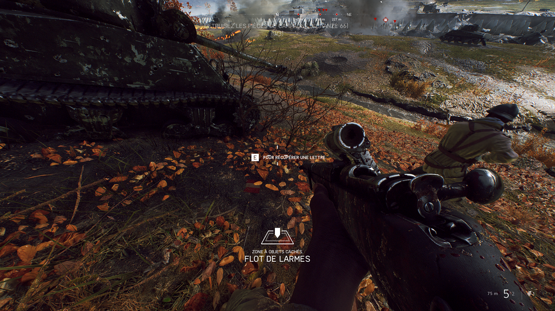 Battlefield™ V - Locations of All Letters in Game + Walkthrough - 17 LETTERS TIRAILLEUR - 4CE5E3B