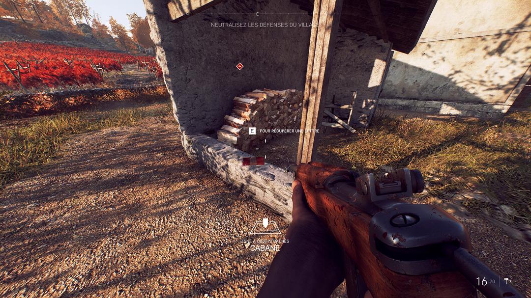 Battlefield™ V - Locations of All Letters in Game + Walkthrough - 17 LETTERS TIRAILLEUR - DE94E07