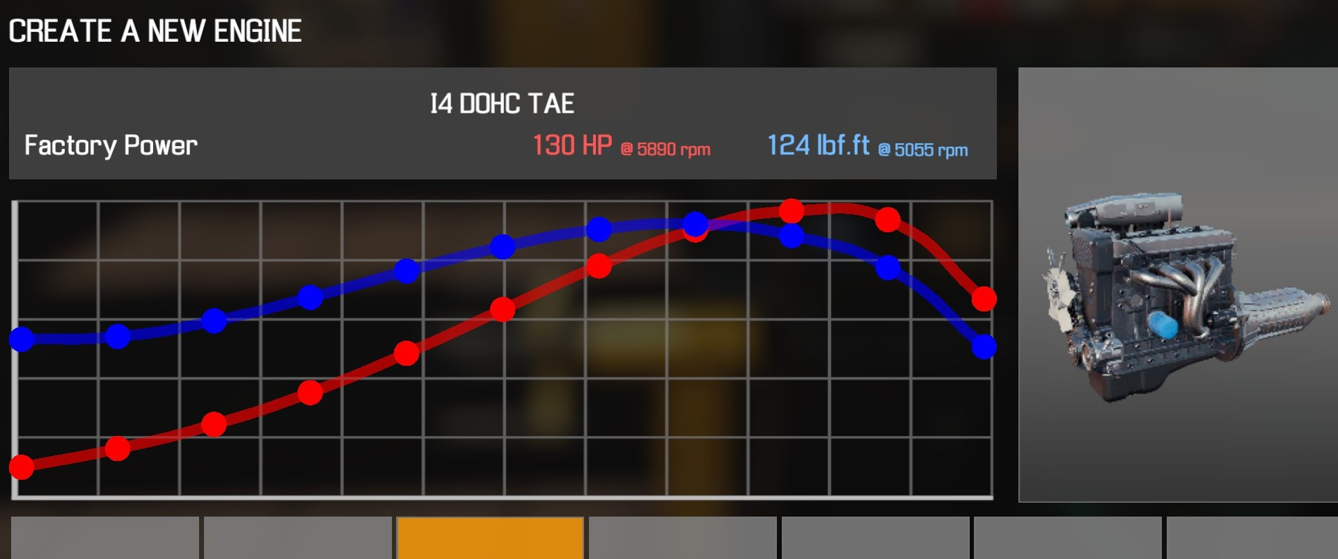 Car Mechanic Simulator 2021 - How to Buy Engine Parts and All Engines in Game Information - I4 DOHC TAE - 8DF4B02