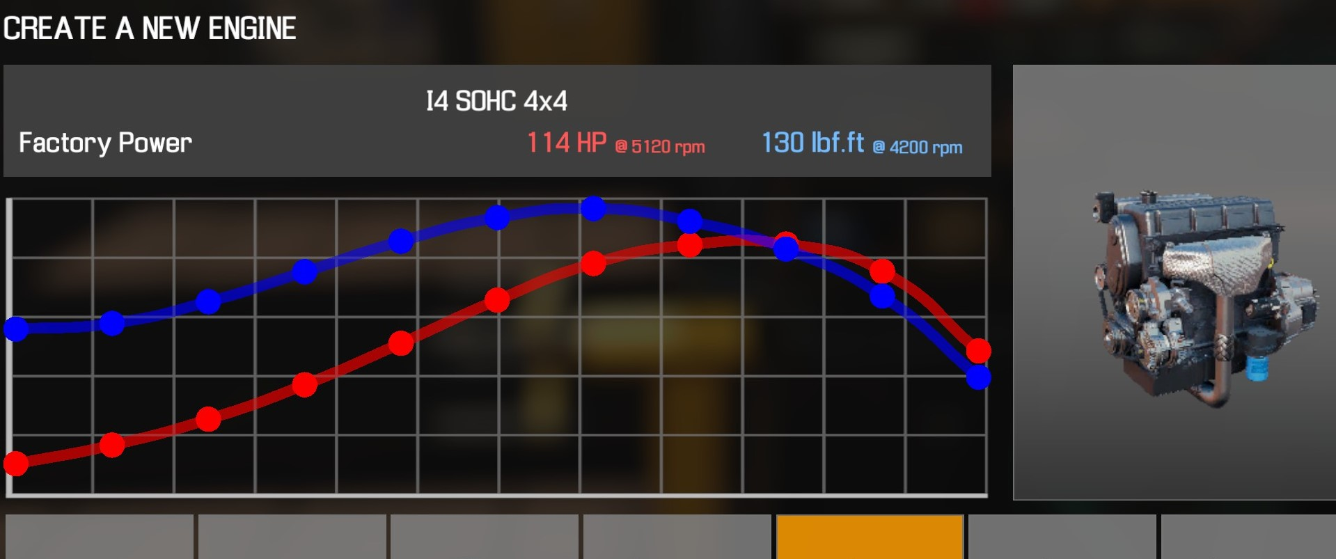 Car Mechanic Simulator 2021 - How to Buy Engine Parts and All Engines in Game Information - I4 SOHC 4x4 - C41A4D8