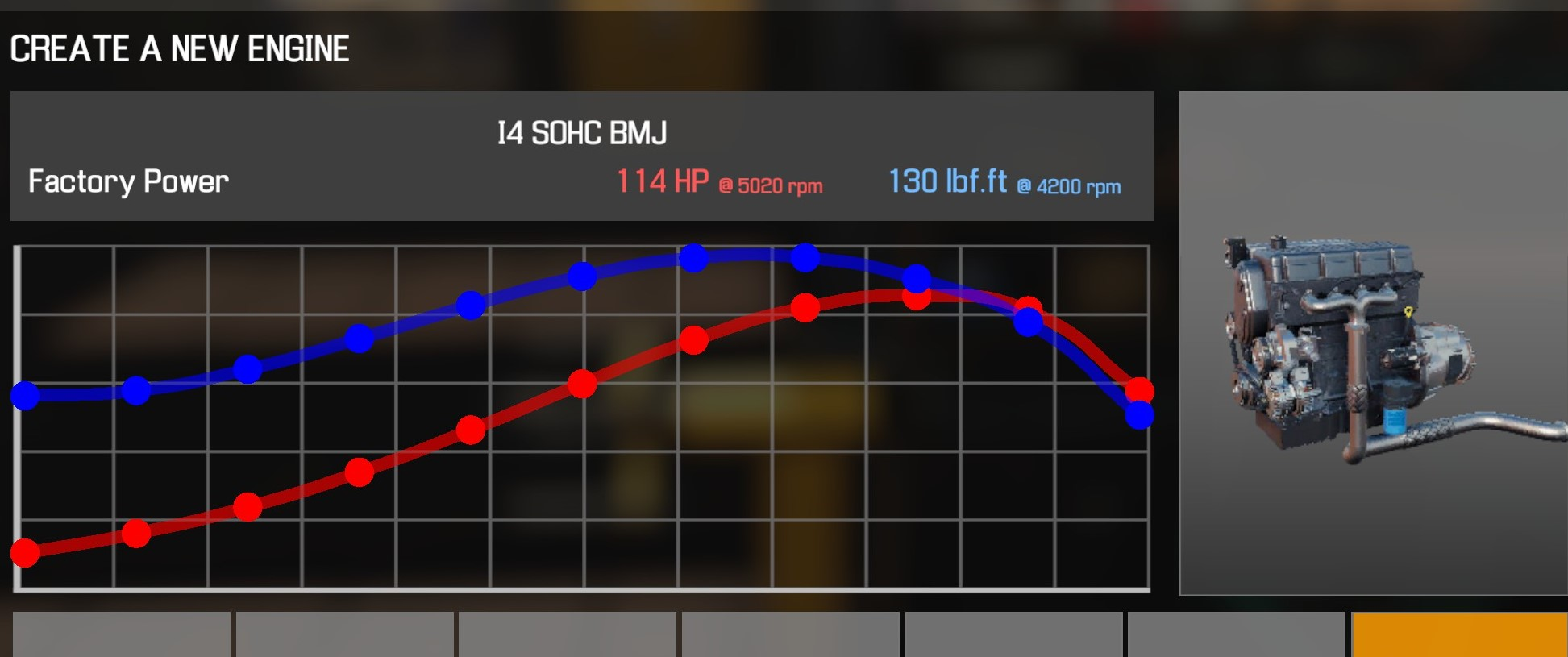 Car Mechanic Simulator 2021 - How to Buy Engine Parts and All Engines in Game Information - I4 SOHC BMJ - F334027