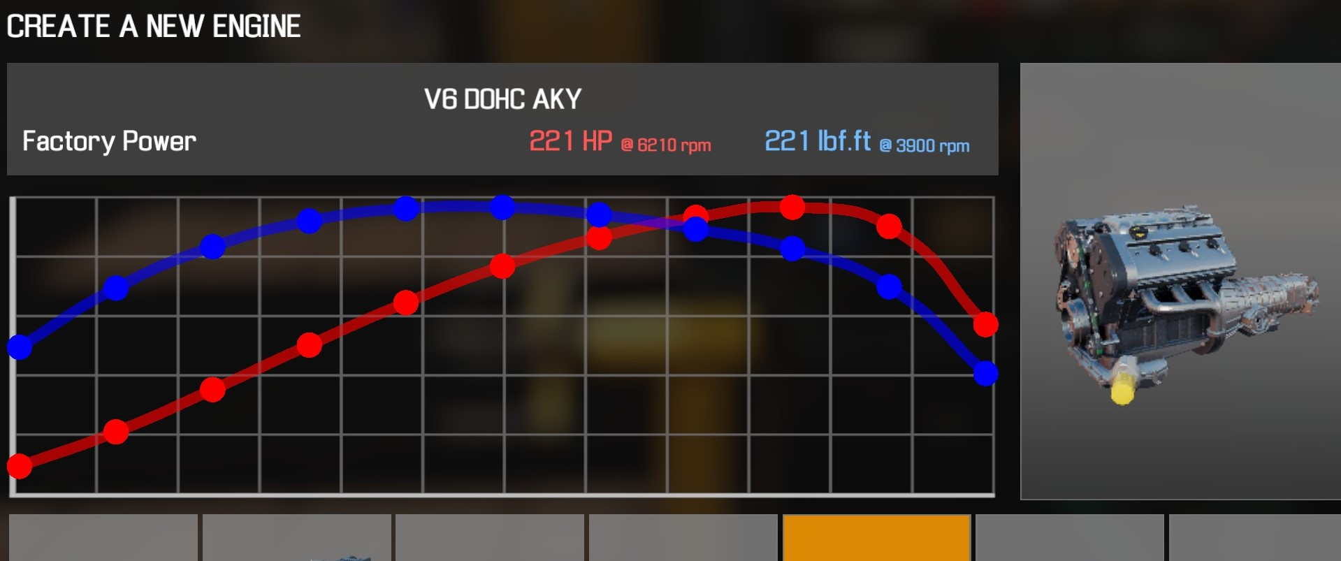 Car Mechanic Simulator 2021 - How to Buy Engine Parts and All Engines in Game Information - V6 DOHC AKY - 39260B8