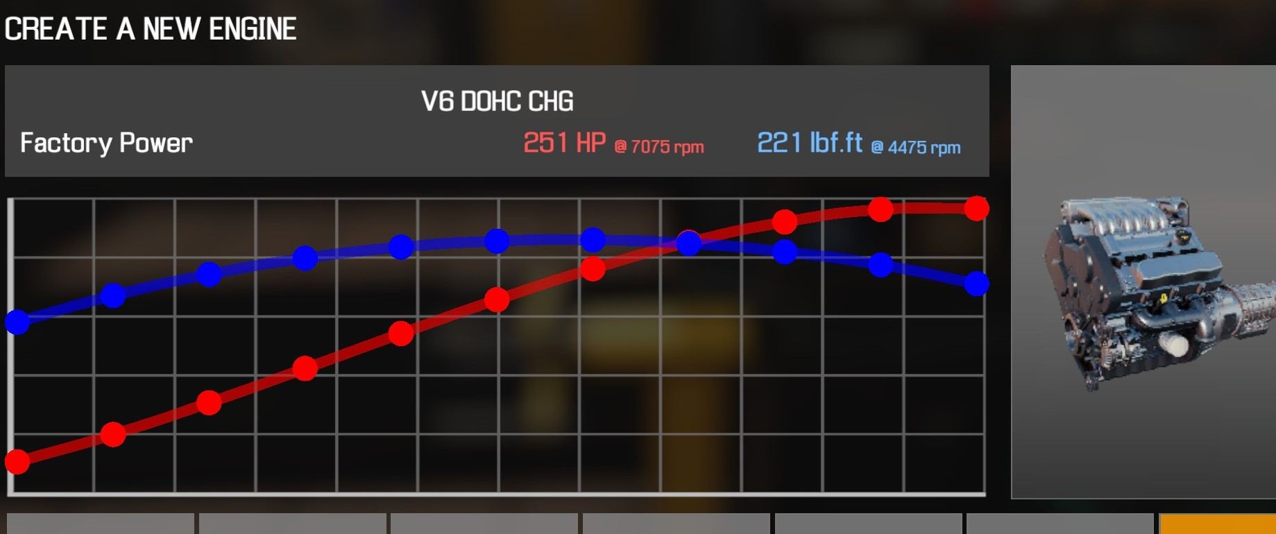 Car Mechanic Simulator 2021 - How to Buy Engine Parts and All Engines in Game Information - V6 DOHC CHG - D7913F0