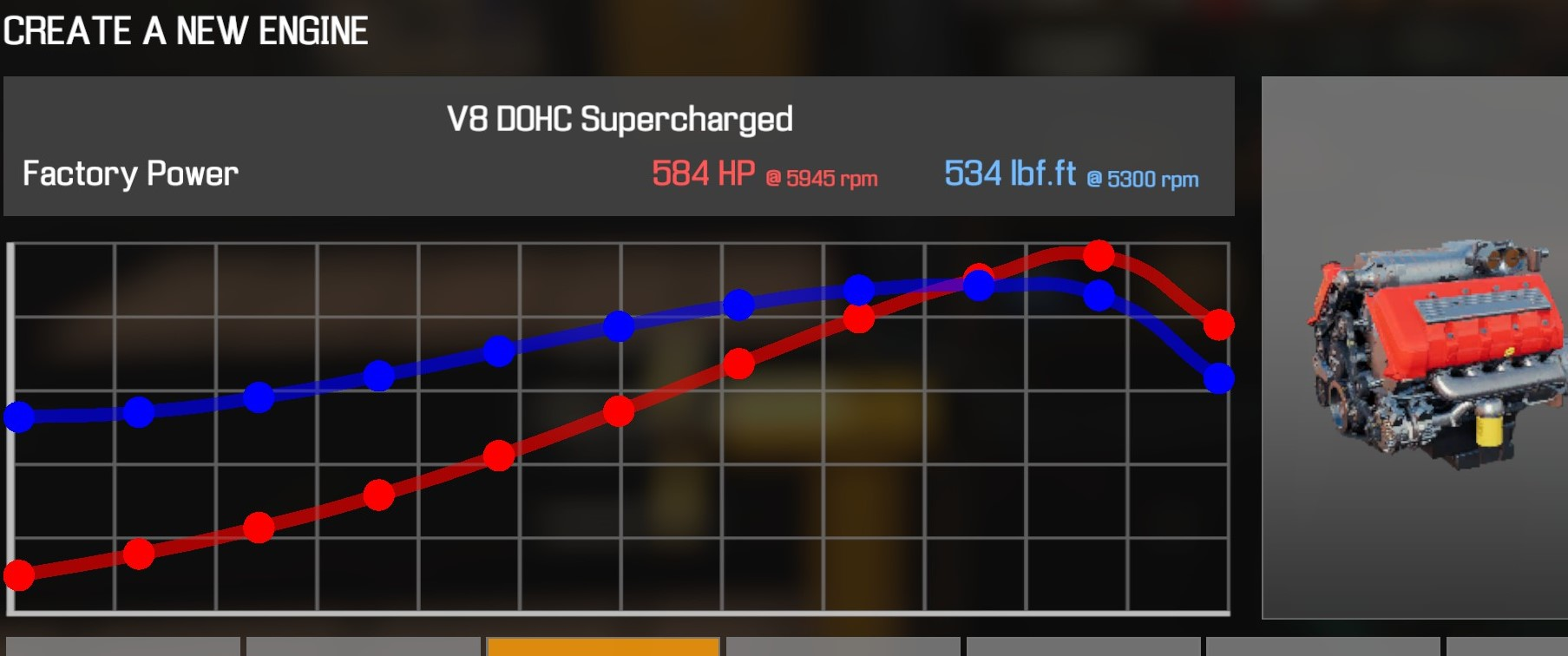 Car Mechanic Simulator 2021 - How to Buy Engine Parts and All Engines in Game Information - V8 DOHC Supercharged - 95256B1