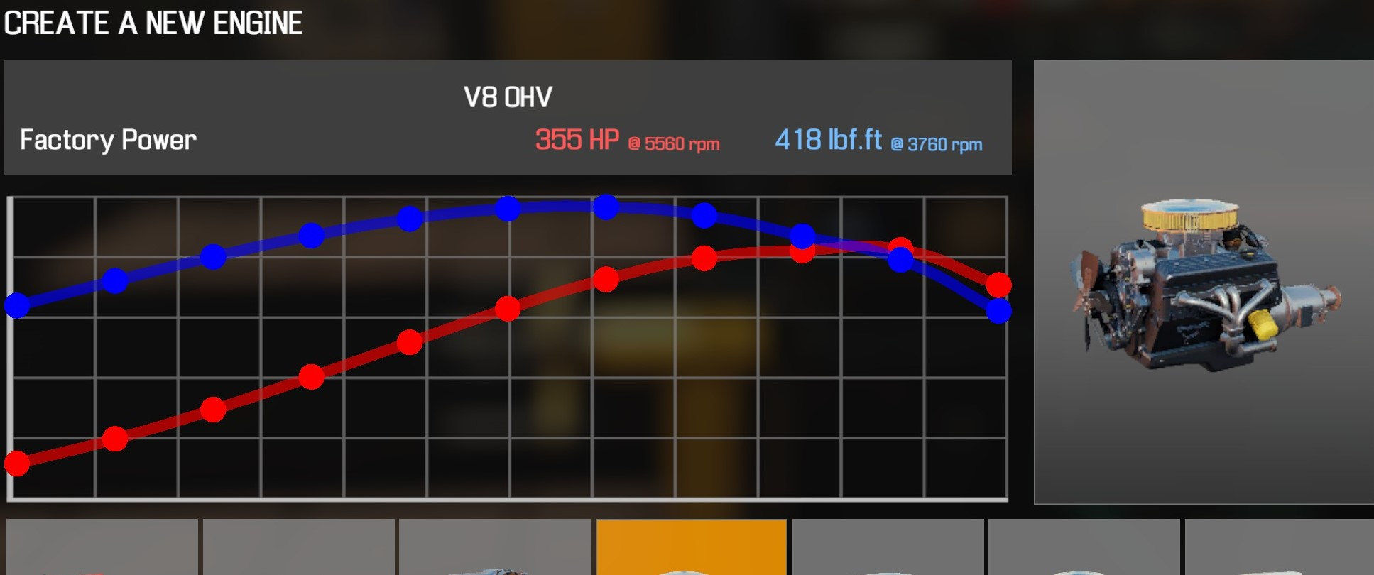 Car Mechanic Simulator 2021 - How to Buy Engine Parts and All Engines in Game Information - V8 OHV - 5477BAA