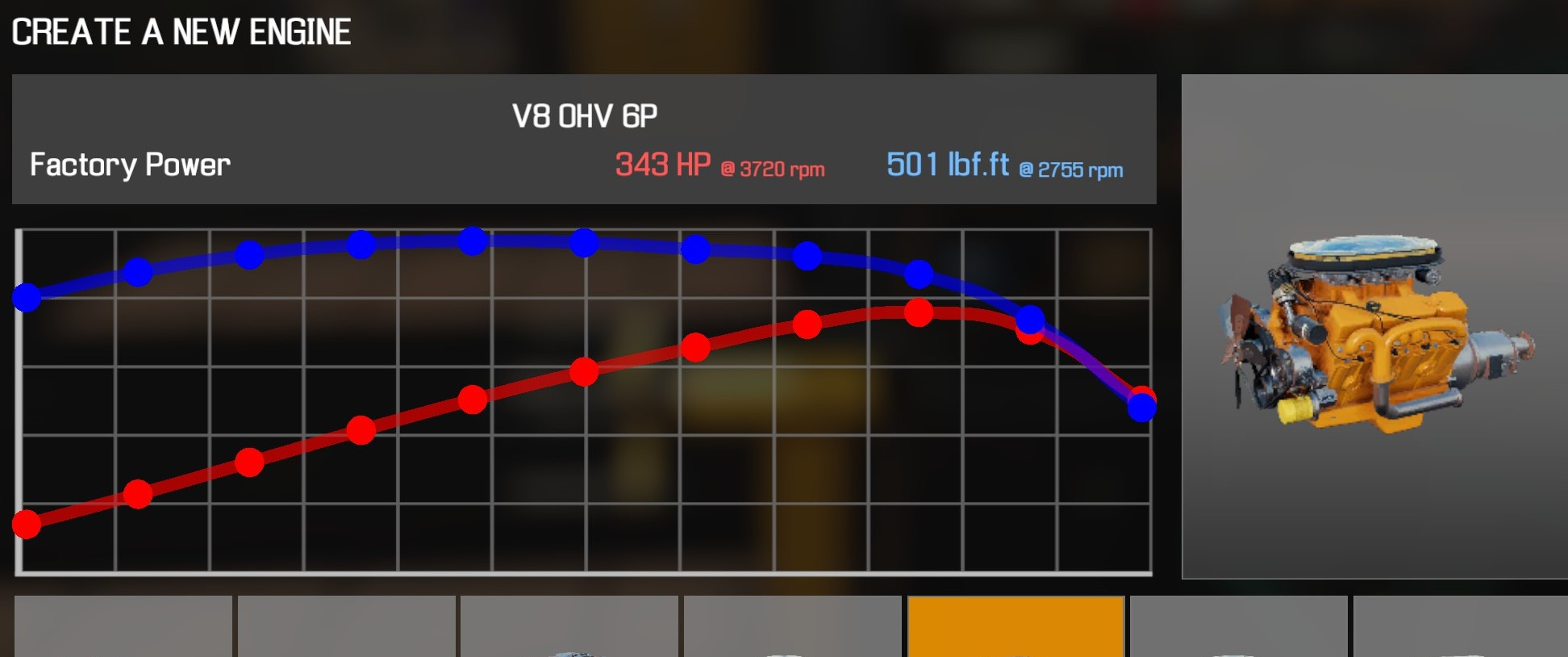 Car Mechanic Simulator 2021 - How to Buy Engine Parts and All Engines in Game Information - V8 OHV 6P - 20E10D3