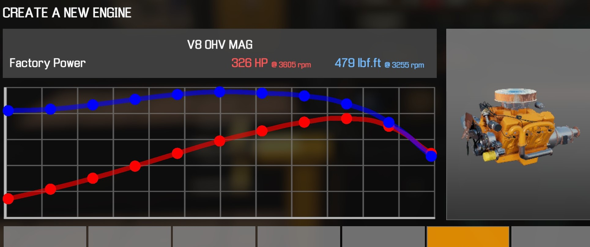 Car Mechanic Simulator 2021 - How to Buy Engine Parts and All Engines in Game Information - V8 OHV MAG - 4C11869