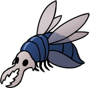 Hollow Knight - Ranking each Boss in the Game - Vengefly King - 7B5F0F8