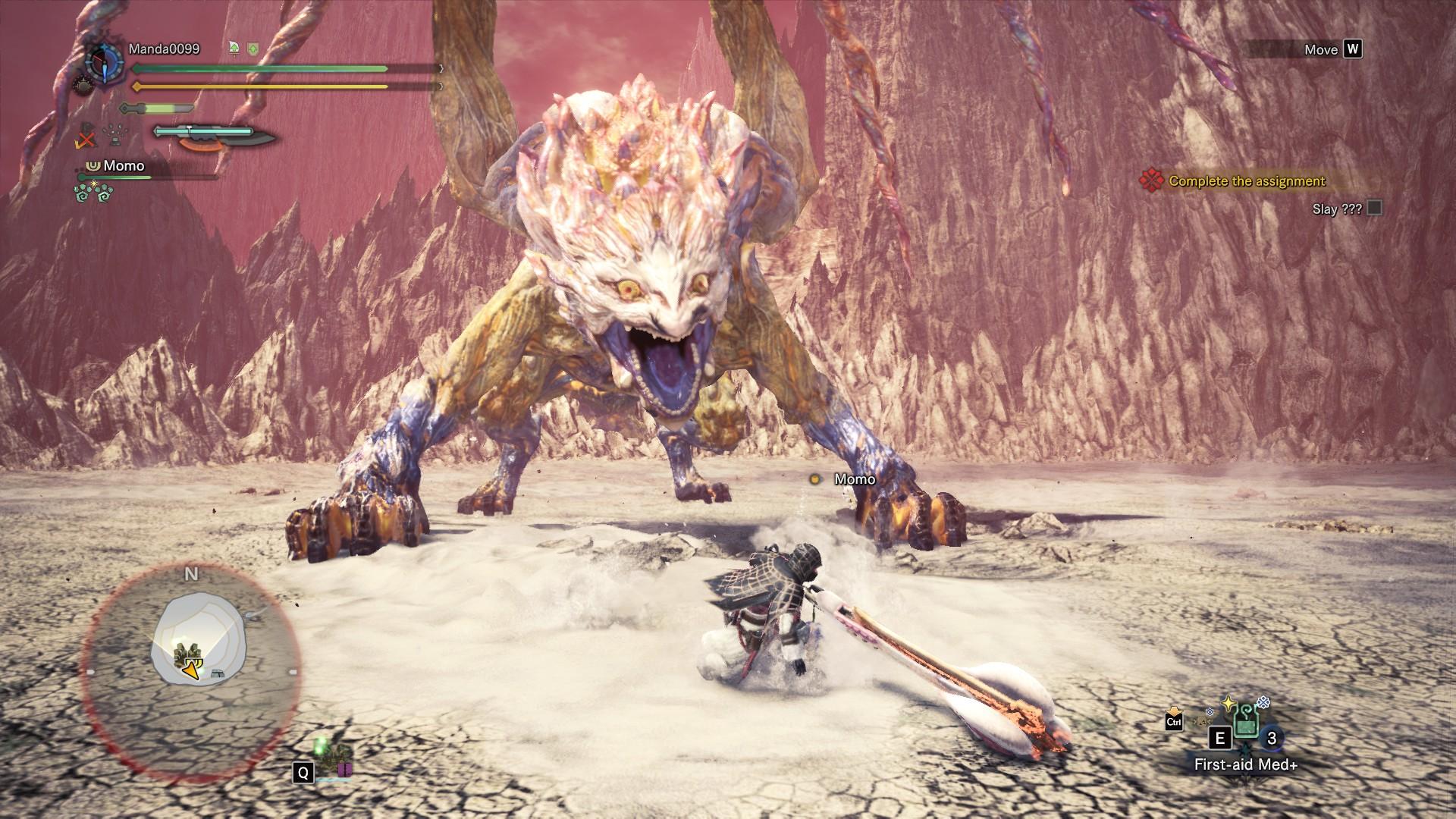 Monster Hunter: World - Tips How to Defeat Shara Ishvalda - Some tips to fight Shara Ishvalda... - 7E74B96
