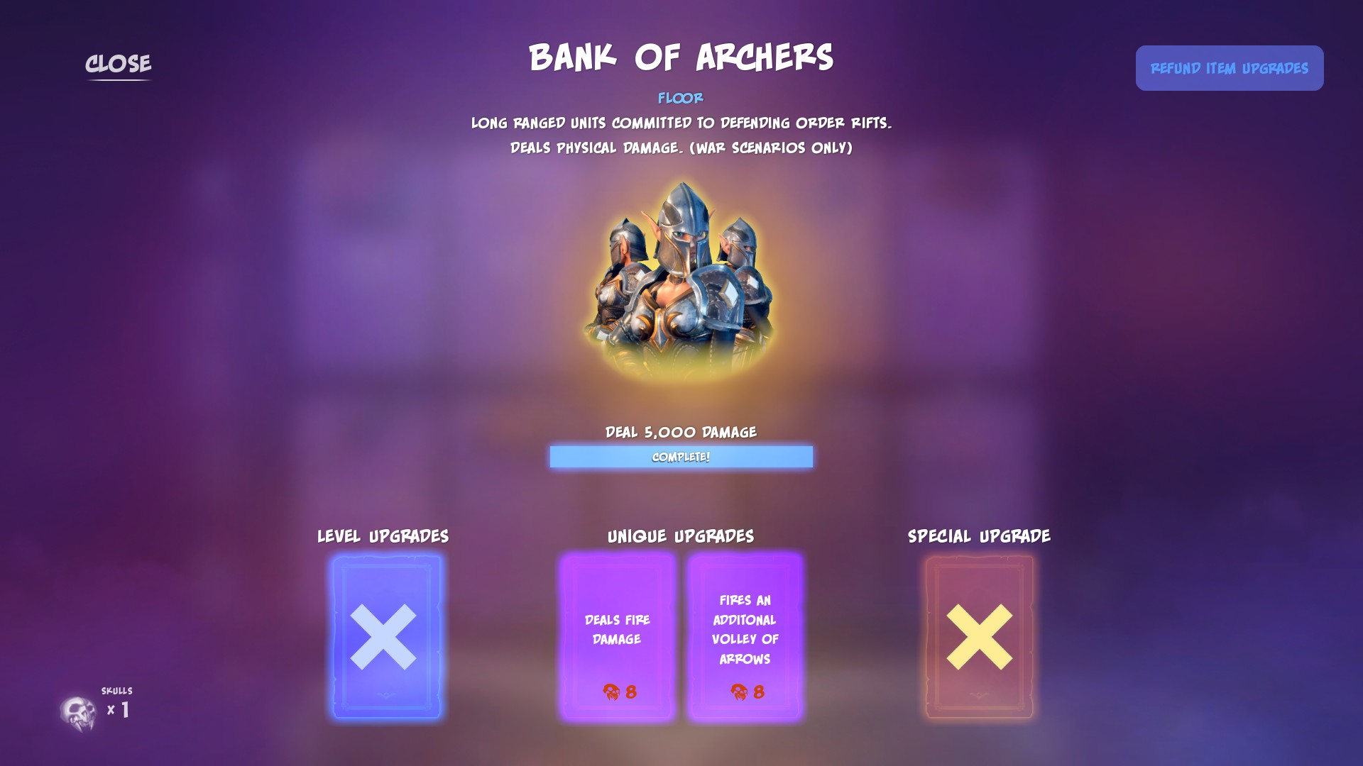 Orcs Must Die! 3 - Awesome Fire Trap Combo Guide - (War Scenario Only) Bank of Archers - 602290F