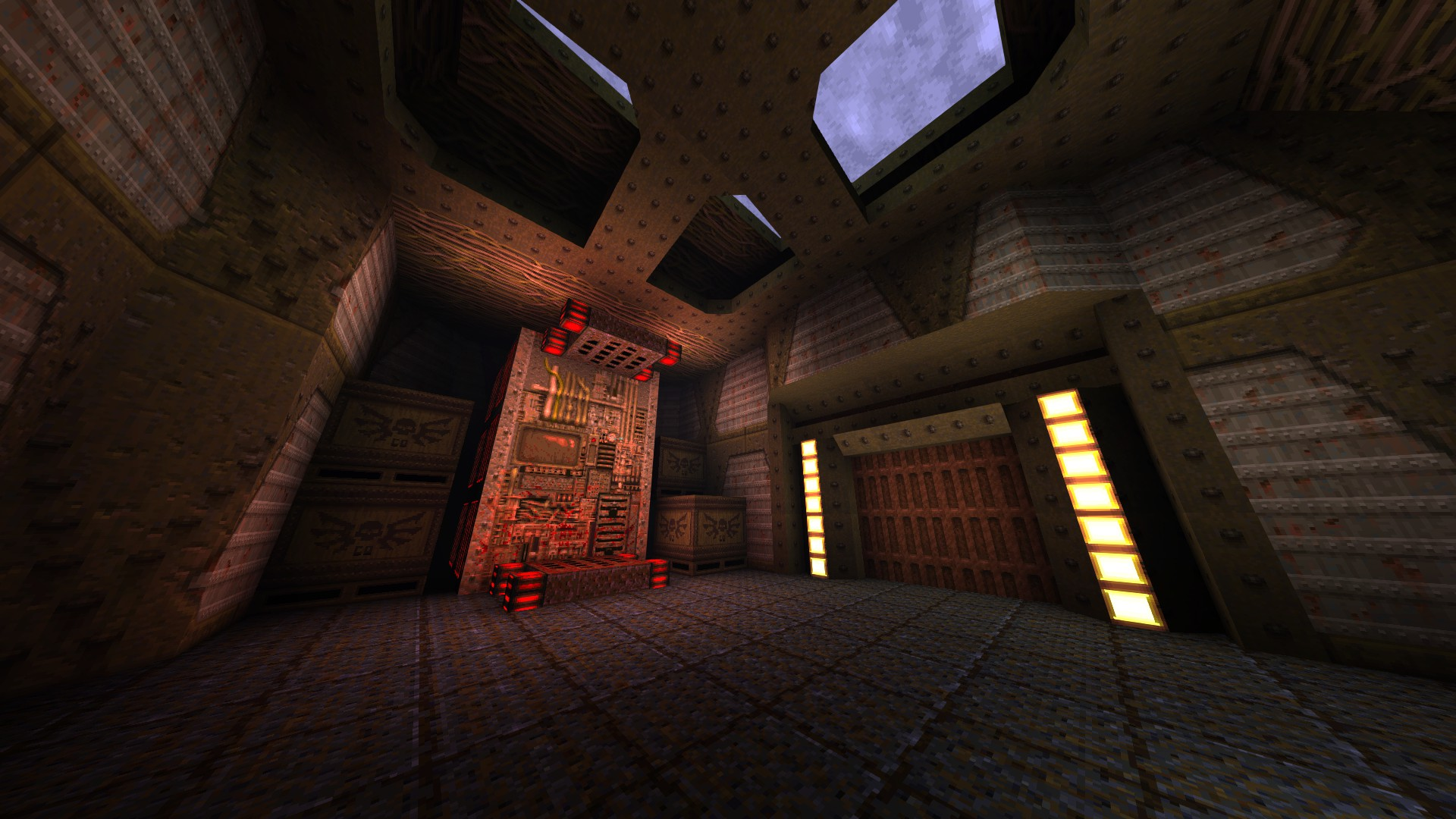 Quake - Locations of All Secrets in Game Tips - E1: Fortress of the Dead - 1CAA2CC