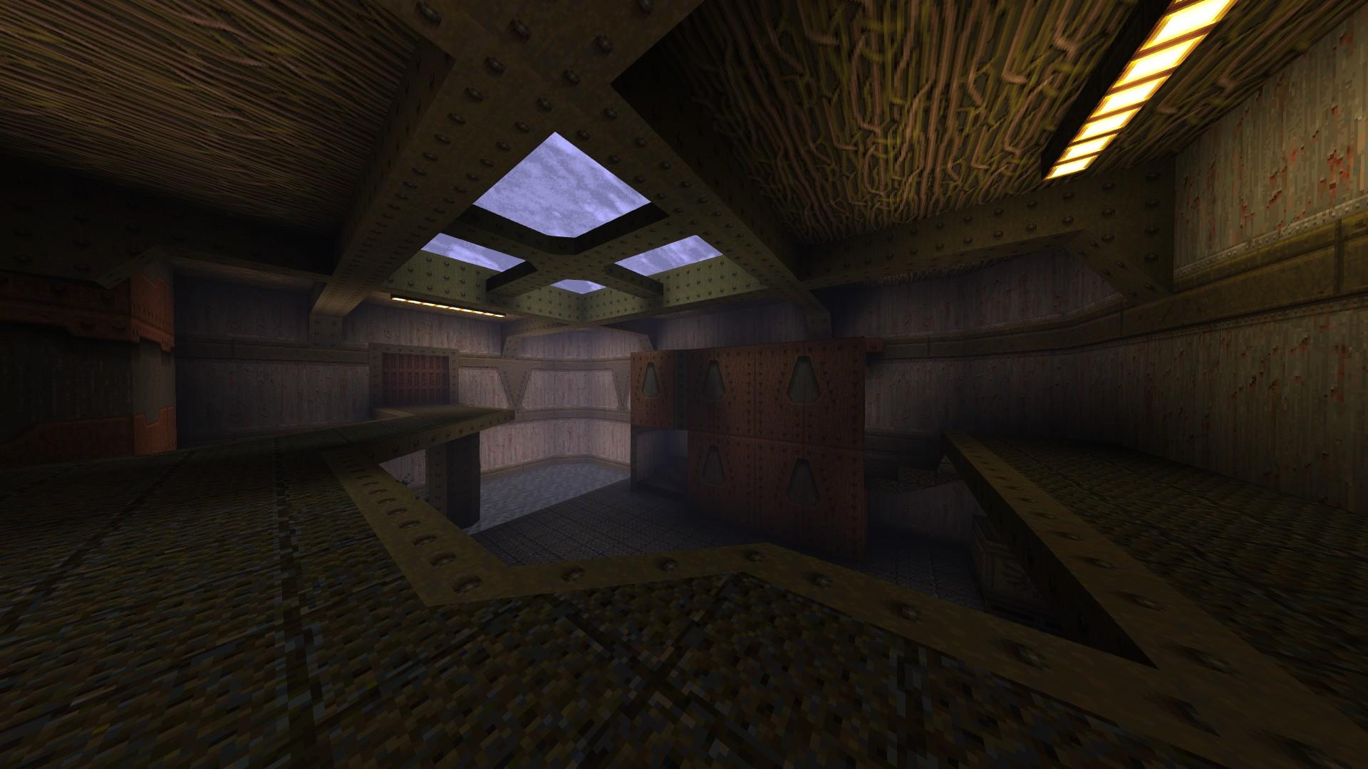 Quake - Locations of All Secrets in Game Tips - E1: Fortress of the Dead - 3C2E5B3
