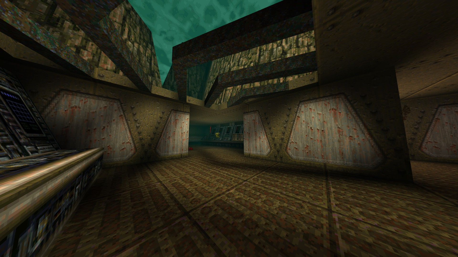 Quake - Locations of All Secrets in Game Tips - E1: Fortress of the Dead - 43CA444